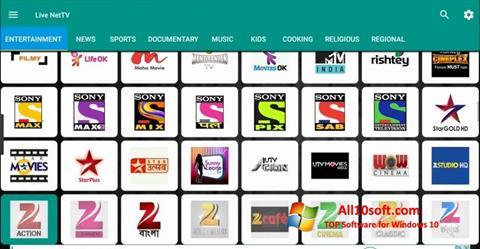 Screenshot Net TV für Windows 10