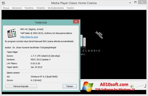 Screenshot K-Lite Codec Pack für Windows 10