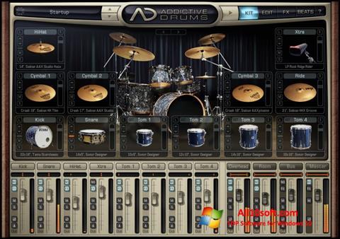 Screenshot Addictive Drums für Windows 10