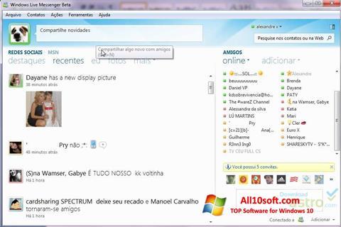 Screenshot Windows Live Messenger für Windows 10