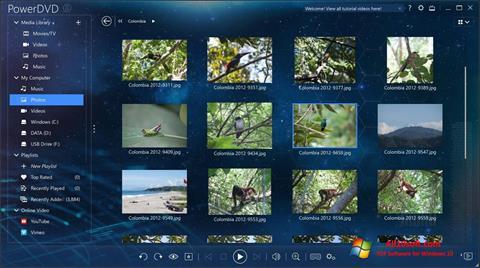 Screenshot PowerDVD für Windows 10