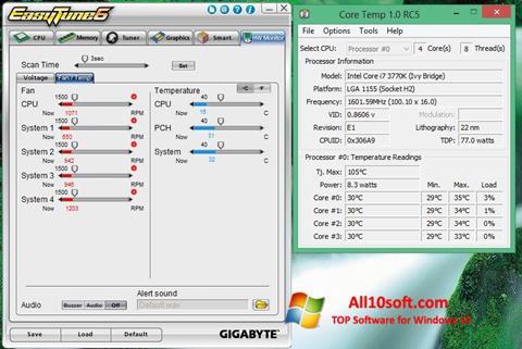 Screenshot EasyTune für Windows 10