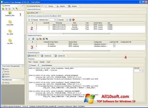Screenshot Firebird für Windows 10