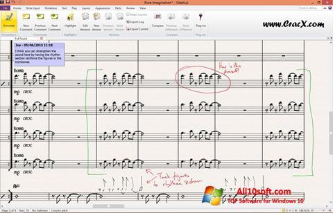 Screenshot Sibelius für Windows 10