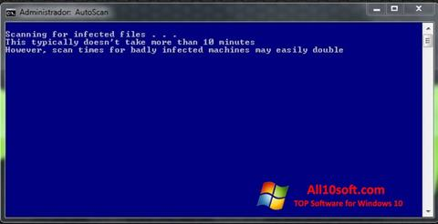 Screenshot ComboFix für Windows 10