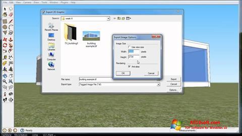 Screenshot SketchUp für Windows 10