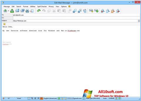 Screenshot The Bat! für Windows 10
