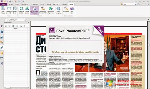 Screenshot Foxit Phantom für Windows 10