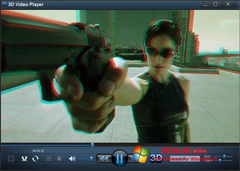 Screenshot 3D Video Player für Windows 10
