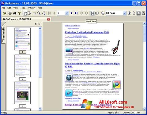 Screenshot WinDjView für Windows 10