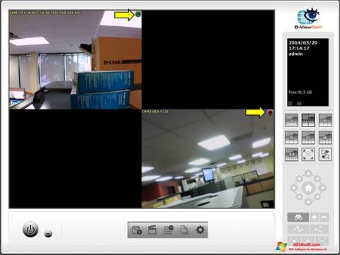 Screenshot D-ViewCam für Windows 10