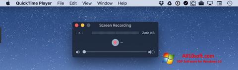Screenshot QuickTime für Windows 10