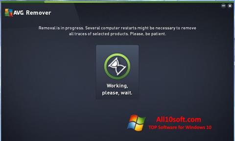 Screenshot AVG Remover für Windows 10