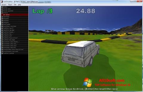 Screenshot 3D Rad für Windows 10