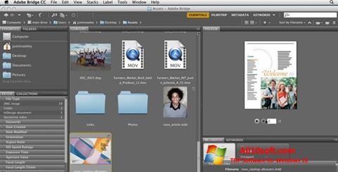 Screenshot Adobe Bridge für Windows 10