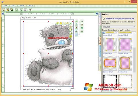 Screenshot PhotoMix Collage für Windows 10