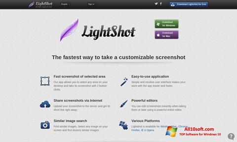 Screenshot LightShot für Windows 10