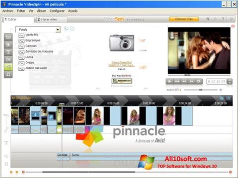 Screenshot Pinnacle VideoSpin für Windows 10