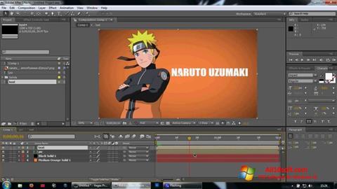 Screenshot Adobe After Effects für Windows 10
