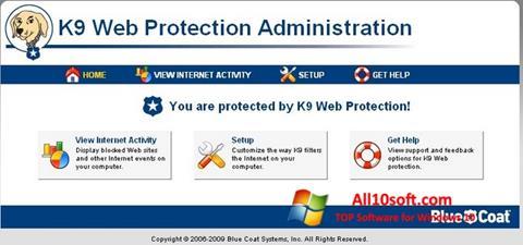 Screenshot K9 Web Protection für Windows 10