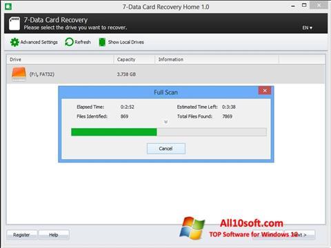 Screenshot CardRecovery für Windows 10