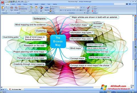 Screenshot MindManager für Windows 10
