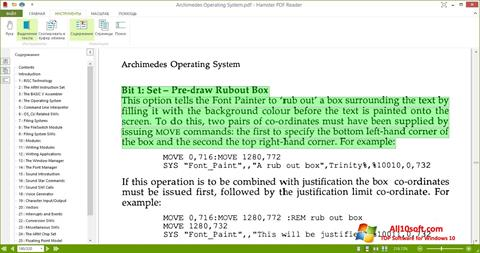 Screenshot Hamster PDF Reader für Windows 10