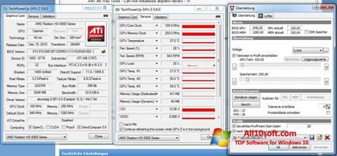 Screenshot ATI Tray Tools für Windows 10