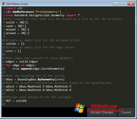 Screenshot Python für Windows 10