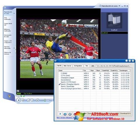 Screenshot SopCast für Windows 10