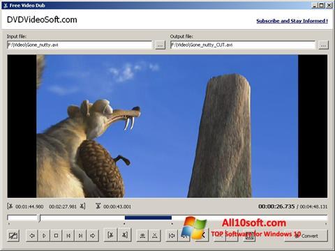 Screenshot Free Video Dub für Windows 10