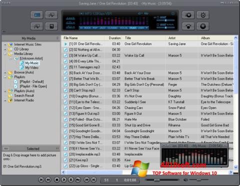 Screenshot JetAudio für Windows 10