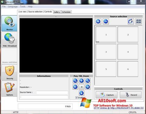 Screenshot webcamXP für Windows 10