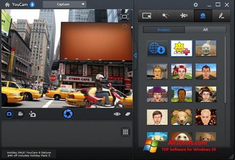Screenshot CyberLink YouCam für Windows 10