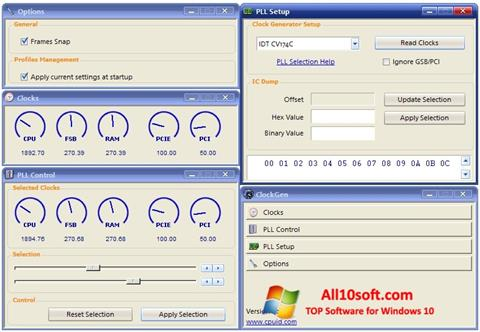 Screenshot ClockGen für Windows 10