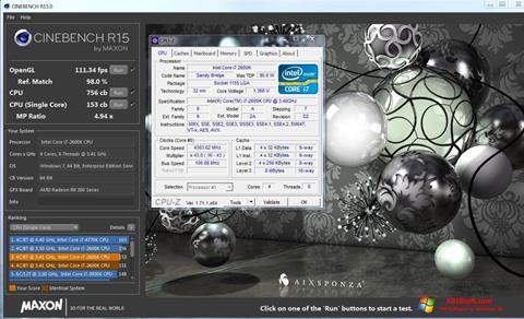 Screenshot CINEBENCH für Windows 10