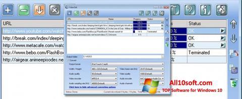 Screenshot VideoGet für Windows 10