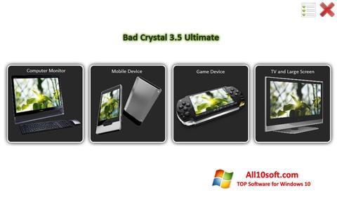 Screenshot Bad Crystal für Windows 10
