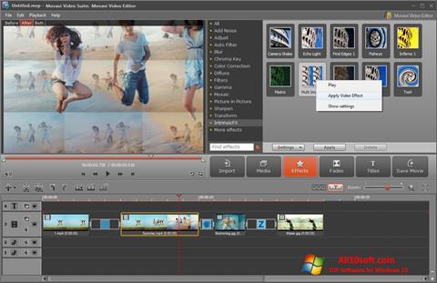 Screenshot Movavi Video Suite für Windows 10