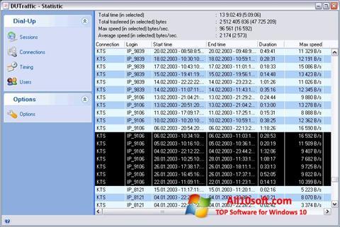 Screenshot DUTraffic für Windows 10