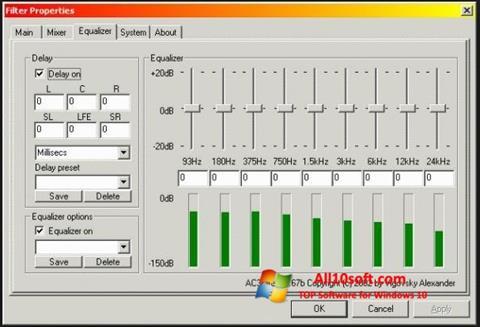 Screenshot AC3 Codec für Windows 10