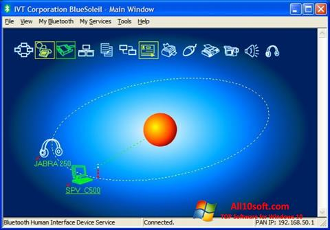 Screenshot BlueSoleil für Windows 10