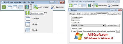 Screenshot Free Screen Video Recorder für Windows 10