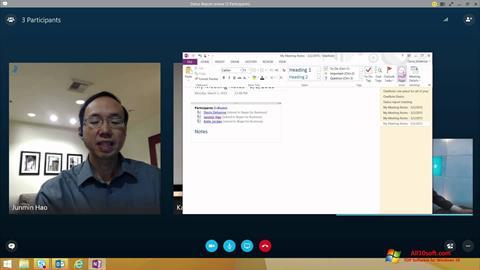 Screenshot Skype for Business für Windows 10