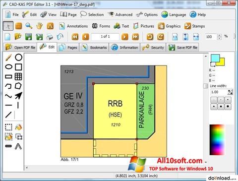 Screenshot PDF Reader für Windows 10