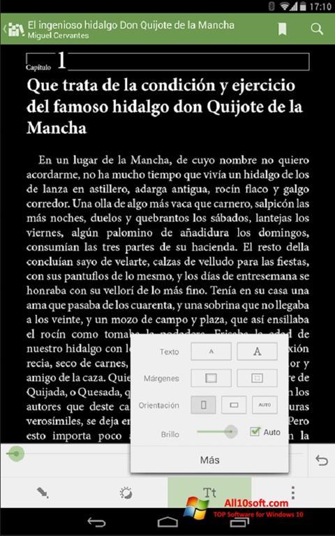 Screenshot BookReader für Windows 10