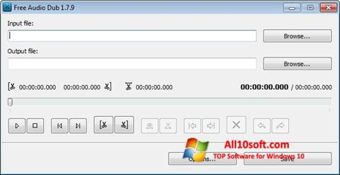 Screenshot Free Audio Dub für Windows 10