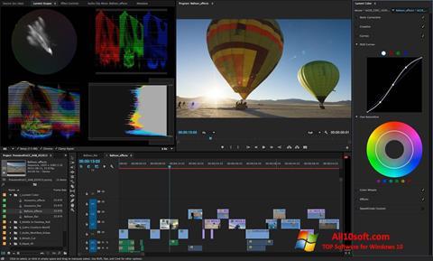 Screenshot Adobe Premiere Pro CC für Windows 10