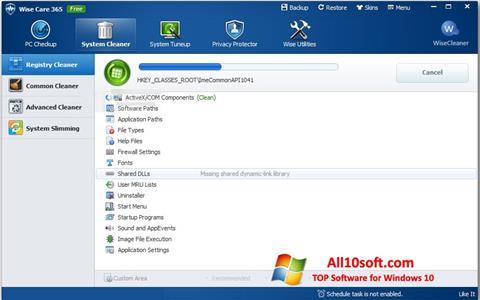 Screenshot Wise Care 365 für Windows 10