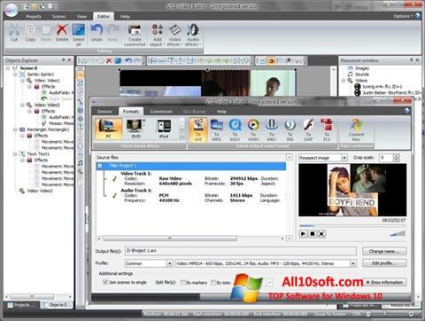 Screenshot Free Video Editor für Windows 10